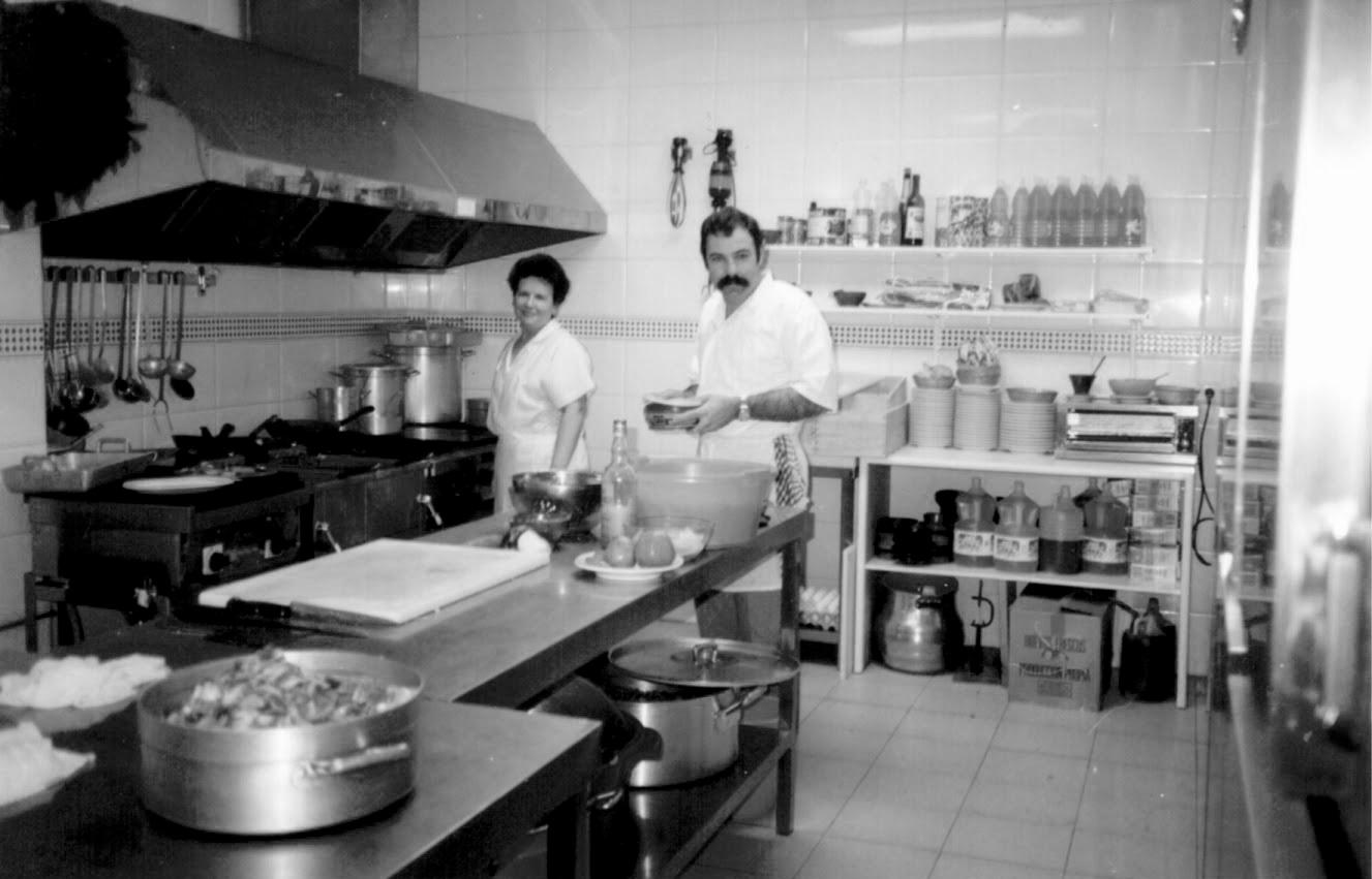 Teresa y João en 1990